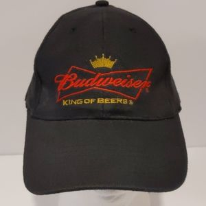 Budweiser black fitted baseball cap
